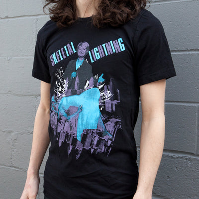 Skeletal Lightning Horse Magic T-Shirt