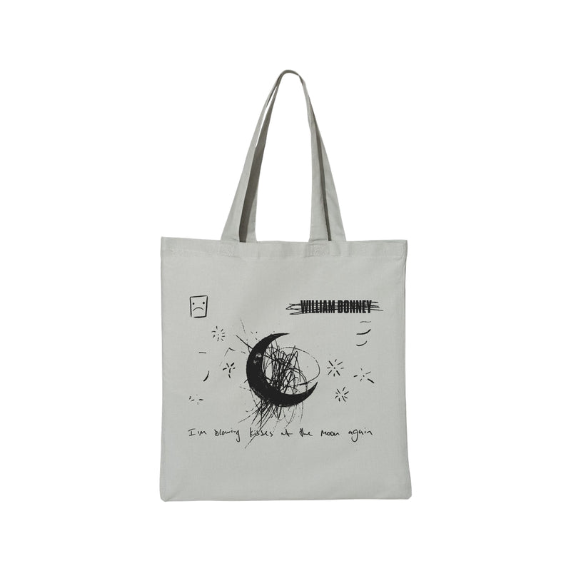 William Bonney - I'm Blowing Kisses At The Moon Again Tote Bag