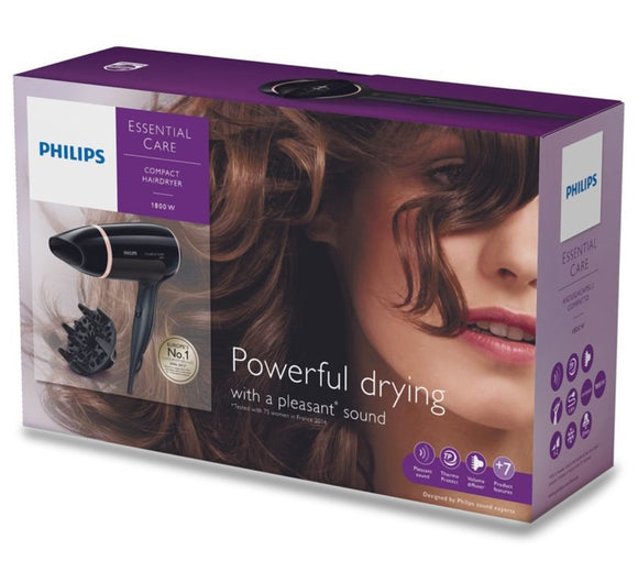 <strong>PHILIPS<br> ESSENTIAL CARE BHD004 </strong><br> Sèche-cheveux