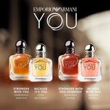 <strong> ARMANI <br> STRONGER WITH YOU </strong><br> Eau de Toilette