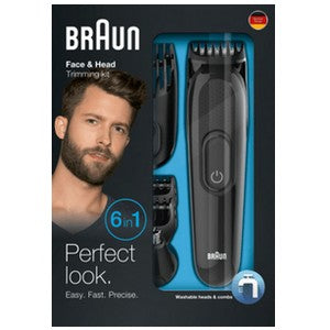 <strong>BRAUN <br> Kit tondeuse 6 en 1 MGK3085</strong><br> Tondeuse Polyvalente