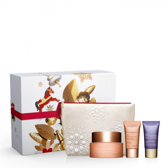 <strong> CLARINS <br> COLLECTION EXTRA-FIRMING </strong><br> Coffret Soin Visage