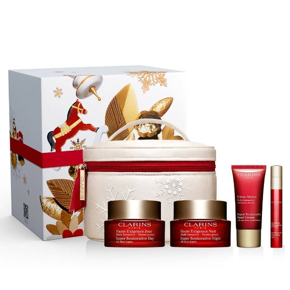 <strong> CLARINS <br> PROGRAMME MULTI-INTENSIVE </strong><br> Coffret Soin