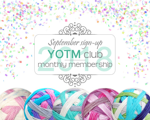 YOTM club | 2018 Monthly membership
