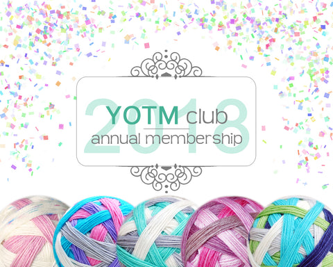 YOTM club | 2018 Annual membership