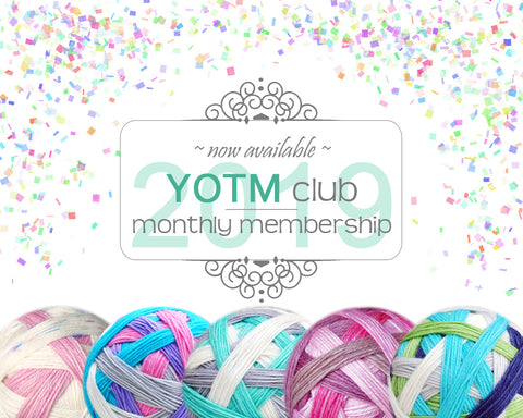 YOTM club | 2019 Monthly membership