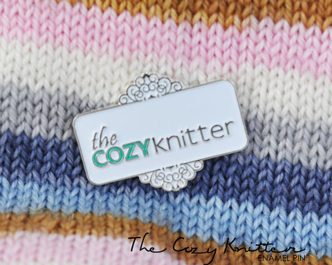 THE COZY KNITTER | Enamel Pin