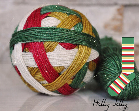 HOLLY JOLLY | Glitz - Green