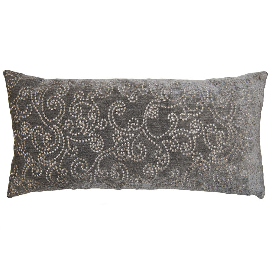 Smokey Paisley Pillow