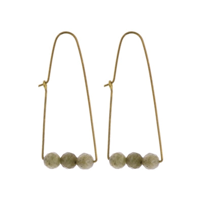 Ava Parabolic Arch Earrings