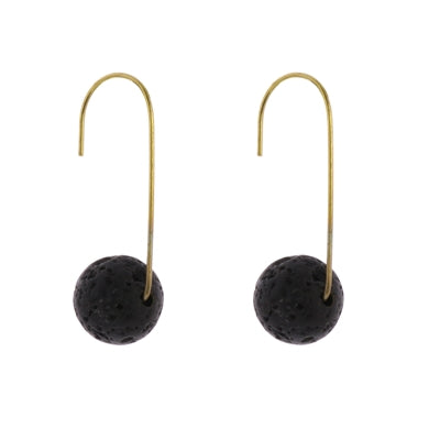 Nevis Lava Earrings