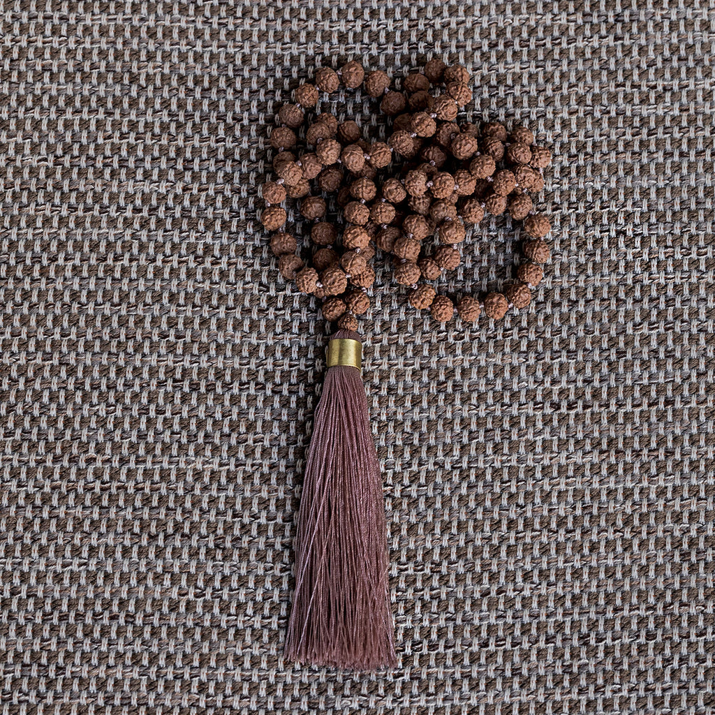 Mala and Tassel Necklace