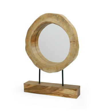 Mirror on a Stand