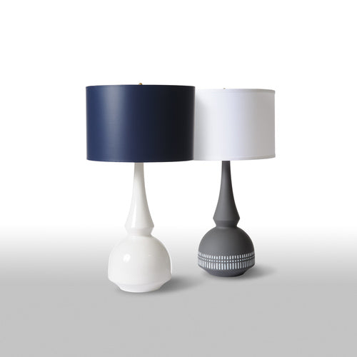 Tribal Grey Lamp