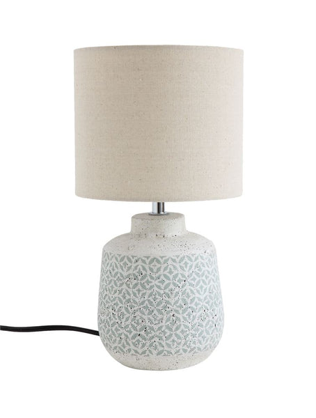 Ceramic Printed Lamp