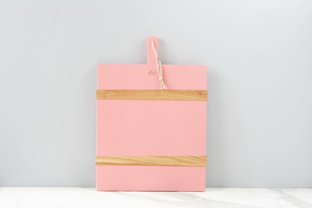 Pink Chacuterie Rectangle Board