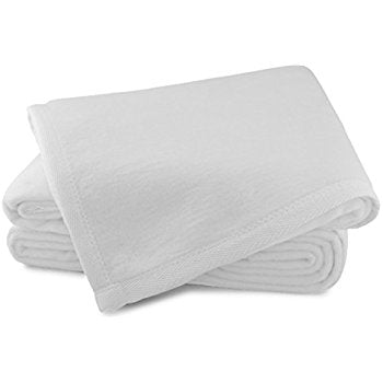 Sferra White King Blanket