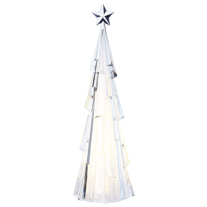 Lighted Tree With Star