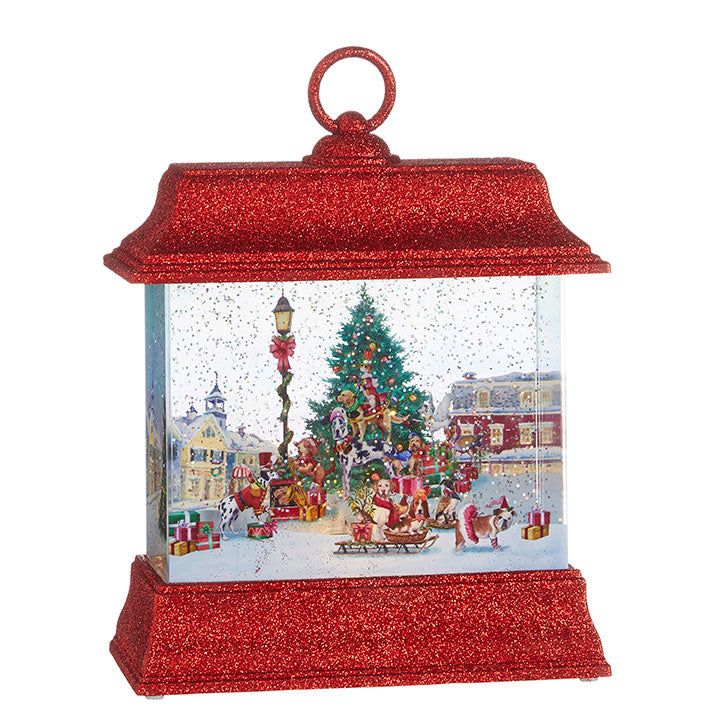 Dogs of Christmas Water Lantern