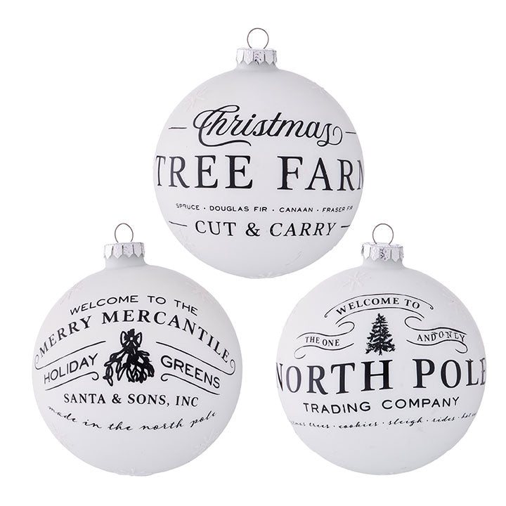 Holiday Ball Ornament