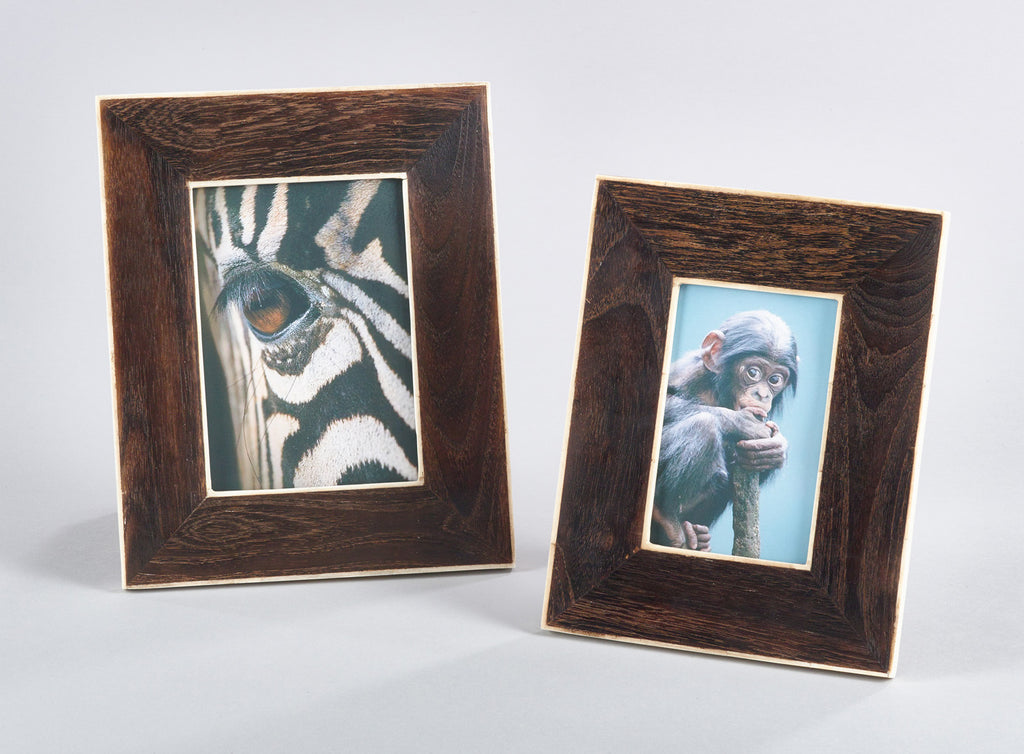 Wooden and Bone Frame