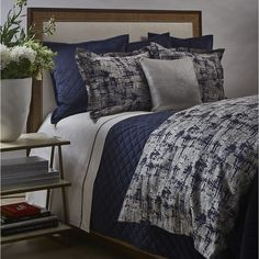Faux Linen Coverlet Set