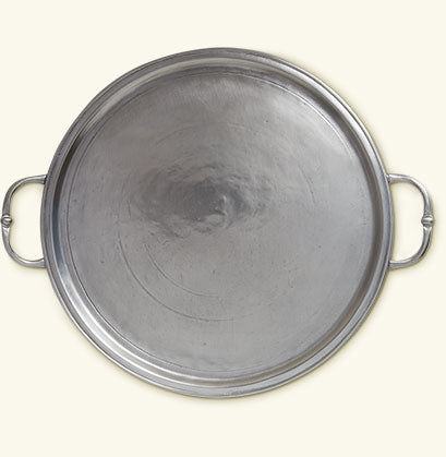 Round Tray, Handles