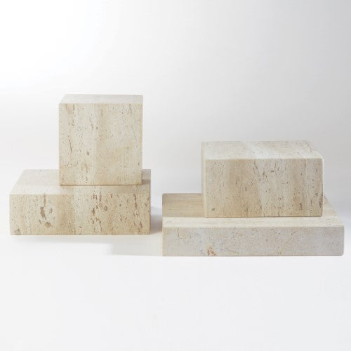 Travertine Risers
