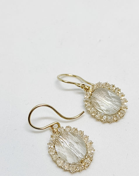 Beaded Raindrop Earring