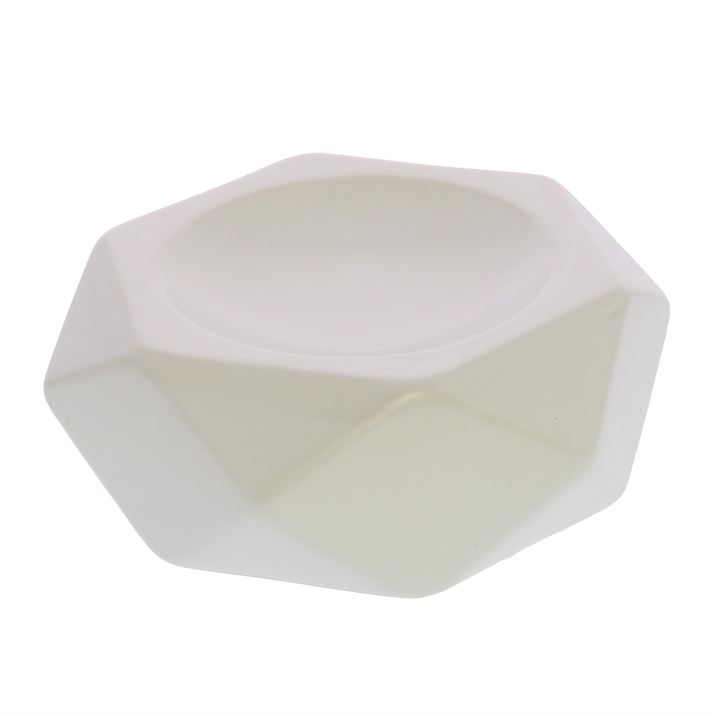 Faceted Soap Dish