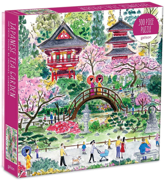Michael Storrings Japanese Tea Garden Puzzle