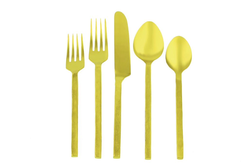 Forged Gold Flatware