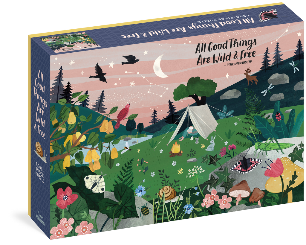 All Good Things Are Wild and Free Puzzle
