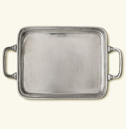 Rectangle Tray, Handles, Small
