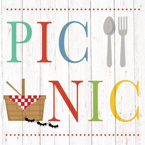 Summer Picnic, Lunch Napkin