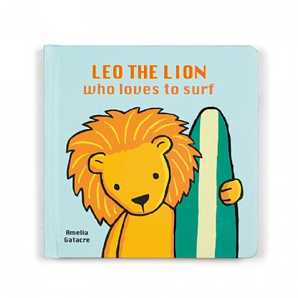 Leo the Lion Who Loves To Surf Book
