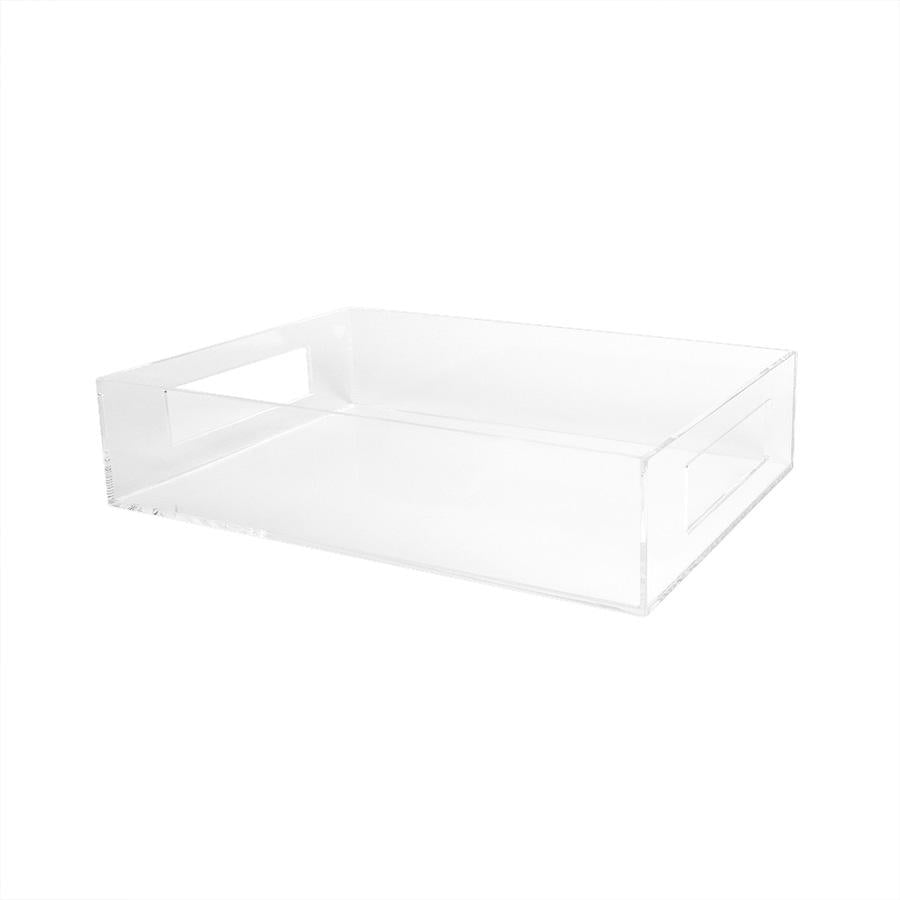 Lucite Deep Tray