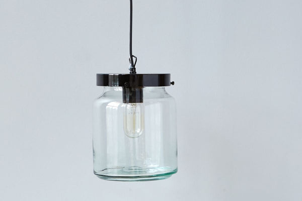 Glass Jar Pendant
