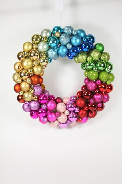 Ball Encrusted Wreath