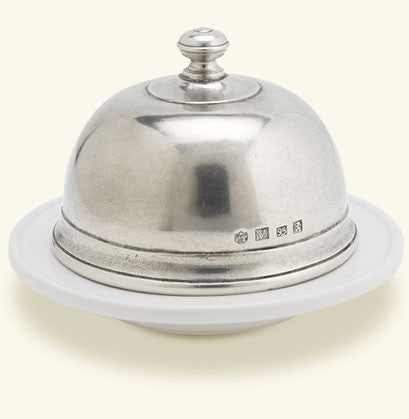 Match Pewter Convivo Butter Dome