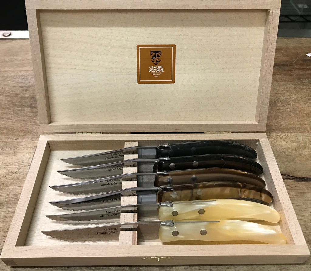 Claude Dozorme Steak Knives Set/6