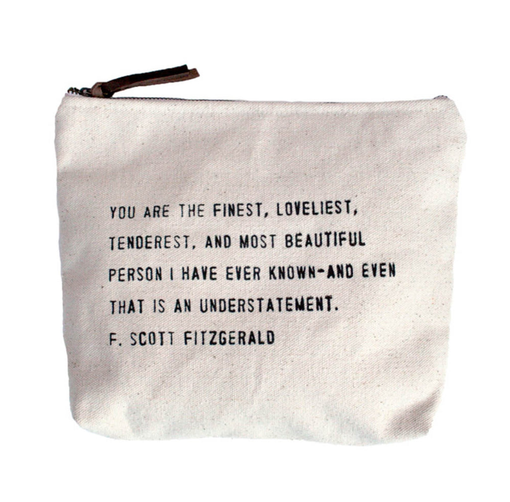 Canvas Everyday Pouch