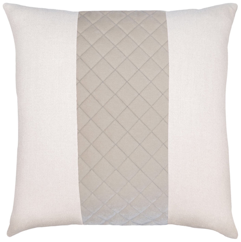 Lennox Birch Quilted Pillow