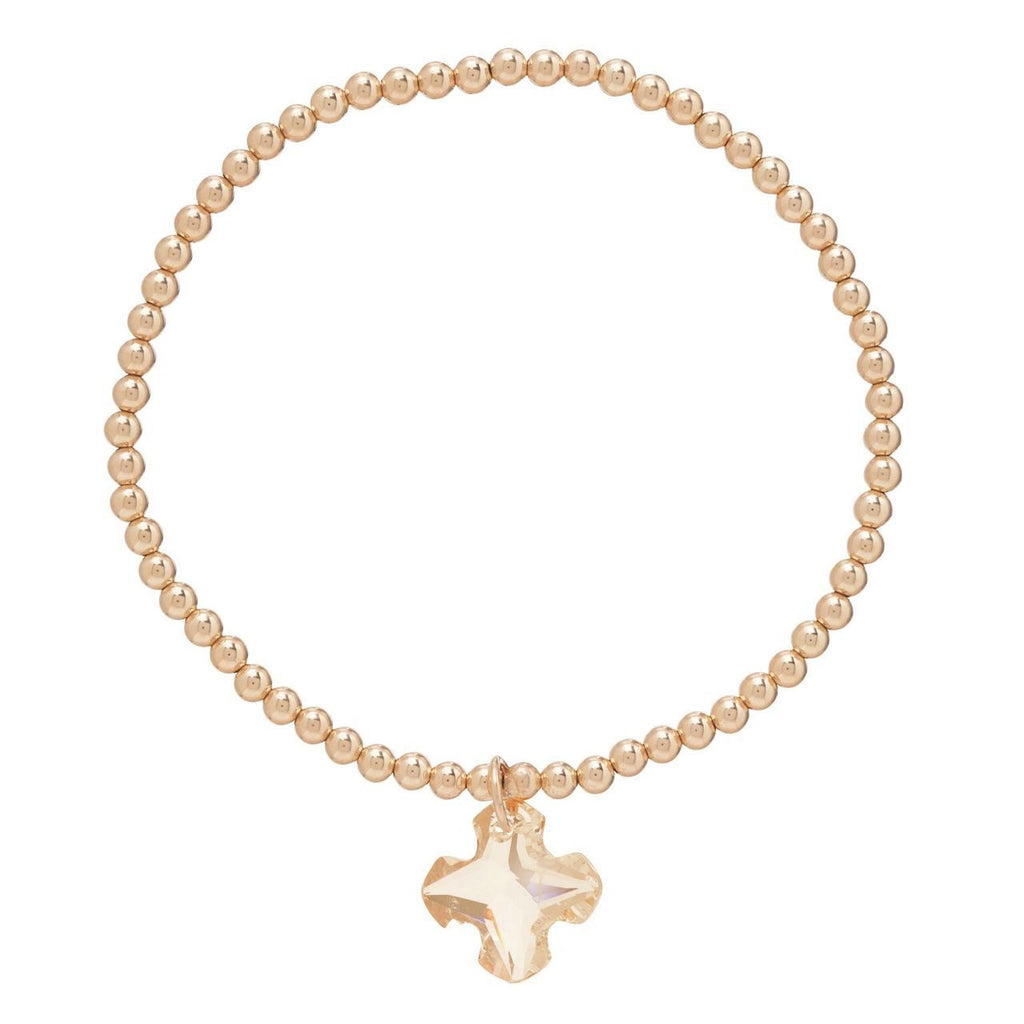 Allure Greek Cross Bracelet