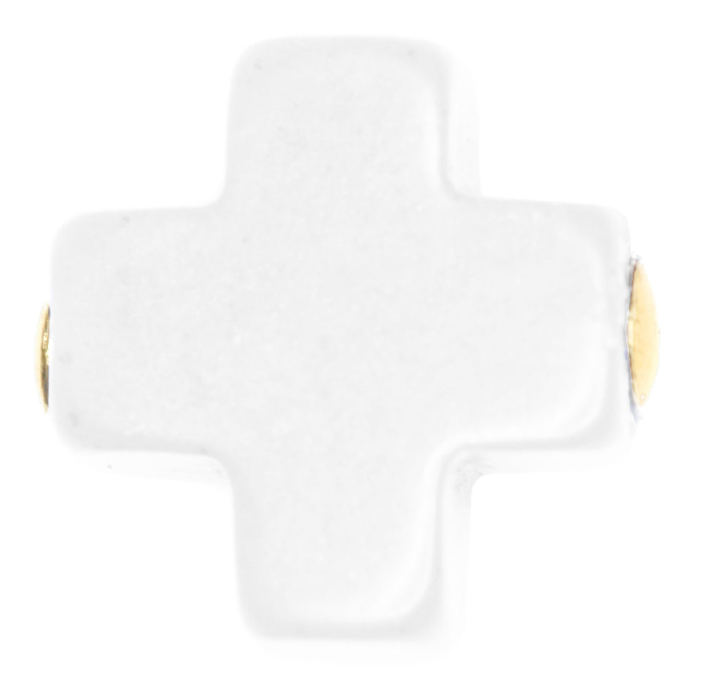 Signature Cross Earring Studs