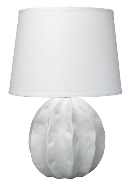 Matte White Ceramic Lamp
