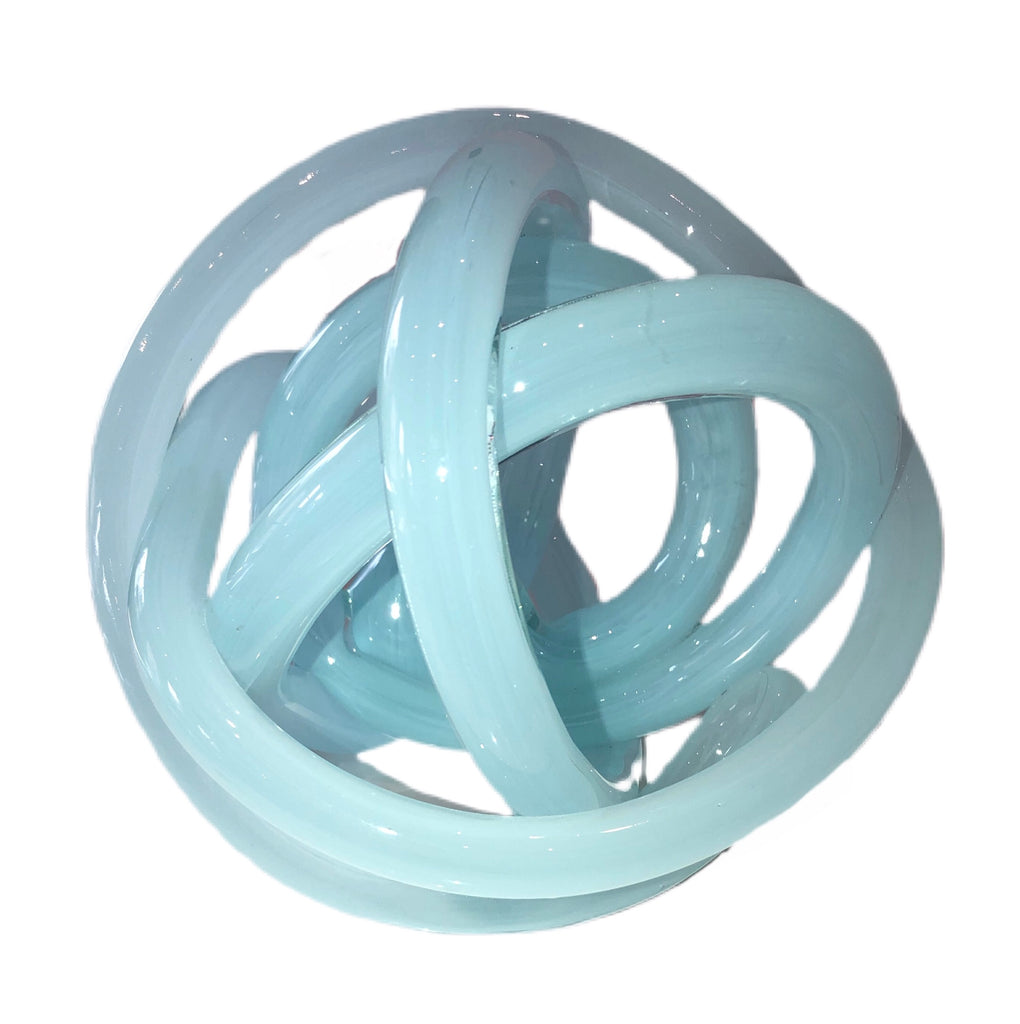 Handblown Glass Knot