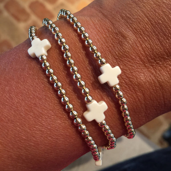 Signature Cross Bracelet