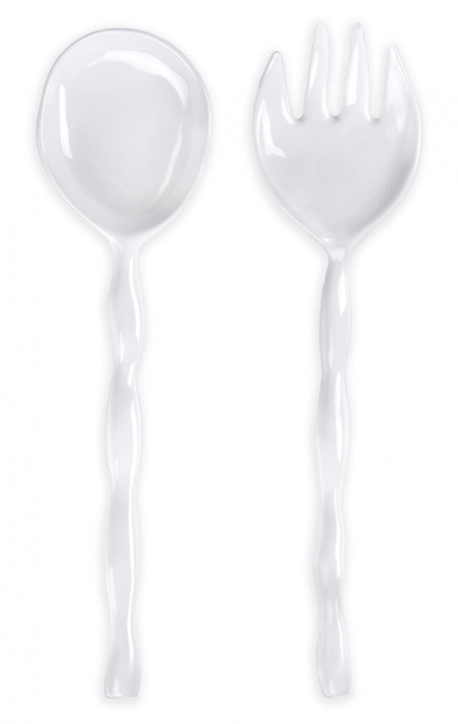 Ruffle Salad Servers