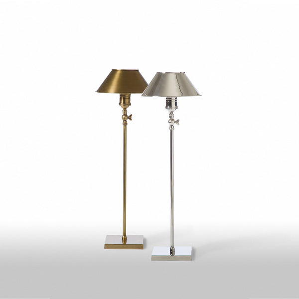 Desk Study Lamp In Nickel